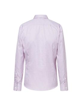 Camisa Hackett MYF JRY Boudeaux CHK blanco hombre
