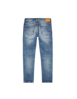 Vaqueros Pepe Jeans Hatch Repaired azul hombre