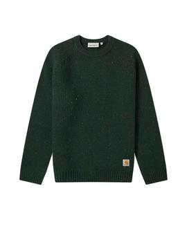 Jersey Carhartt Anglistic verde hombre