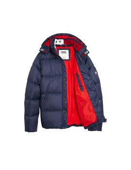 Anorak Tommy Jeans Essential Hood Puffa marino hombre