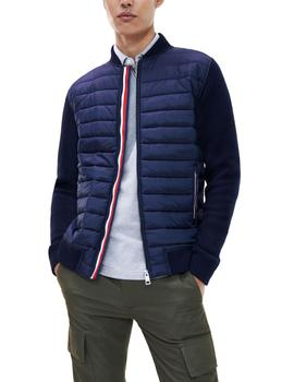 Chaqueta Tommy Hilfiger Mixed Media Baseball marino hombre