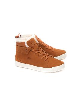 Botín Lacoste Explorateur Thermo camel mujer