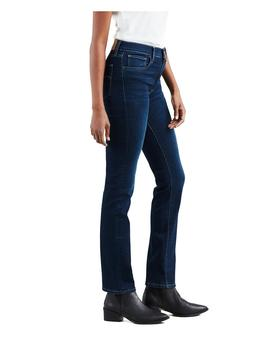 Vaqueros Levi's 724 High Rise Straight Role Model azul mujer
