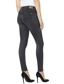 Vaqueros Pepe Jeans Pixie negro mujer 32L