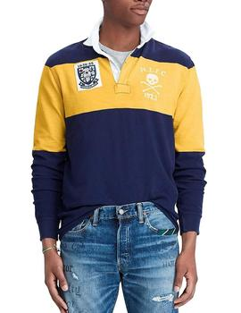 Punto Polo Ralph Lauren Rugby Patches hombre