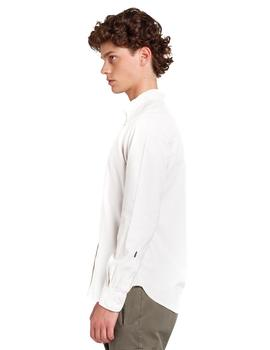 Camisa Edmmond BD Shirt Duck Oxford blanco hombre
