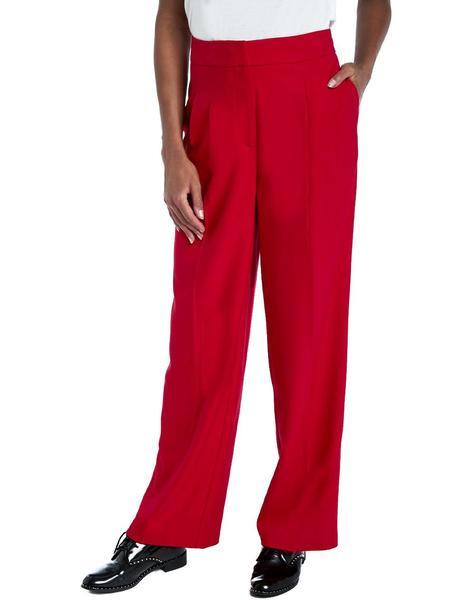 Pantalon Naf Naf Lhnp14d Rojo Mujer