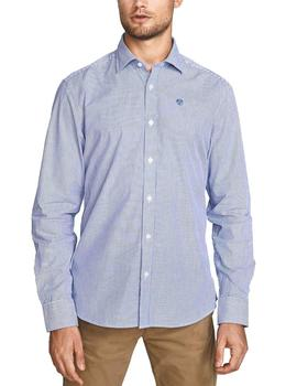 Camisa North Sails Regular Stripes marino/blanco hombre