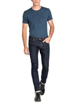 Vaqueros Lee Luke Slim Tapered índigo hombre
