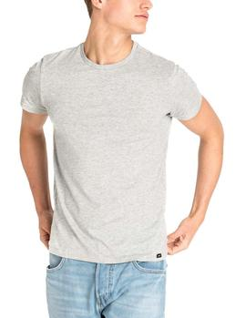 Pack 2 Camisetas Lee Twin Pack Crew marino gris hombre