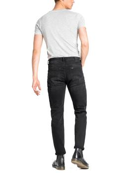 Vaqueros Lee Austin Regular Tapered negro hombre