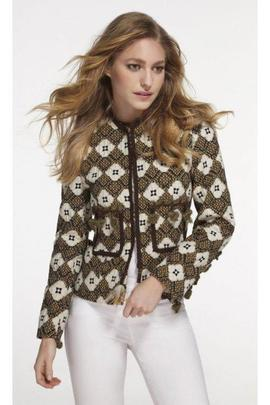 Chaqueta Extreme Collection TrenzaDominique multicolor mujer