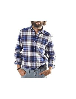 Camisa Patch. Modelo 102549. Color azul
