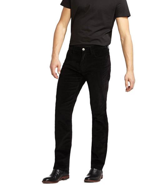 Pantalones Pana Wrangler Arizona Regular Negro Hombre