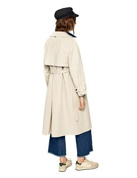Trench Pepe Jeans Lauren beige mujer