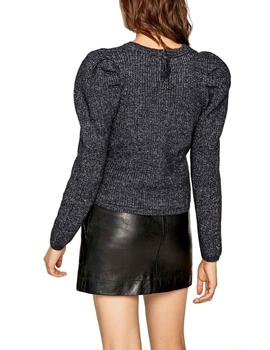 Jersey Pepe Jeans Preppy marino mujer