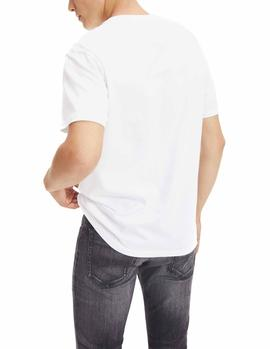 Camiseta Tommy Jeans TJM Tommy Classics blanco hombre