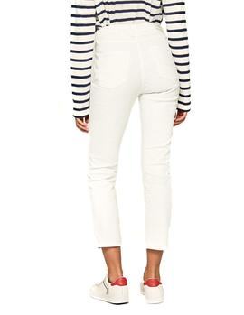 Vaqueros Pepe Jeans Dion 7/8 blanco mujer
