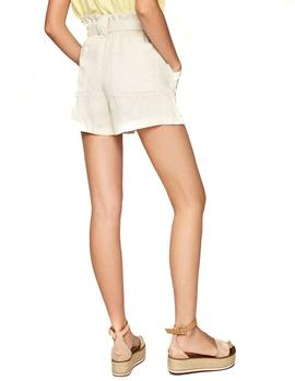 Shorts Pepe Jeans Leah beige mujer
