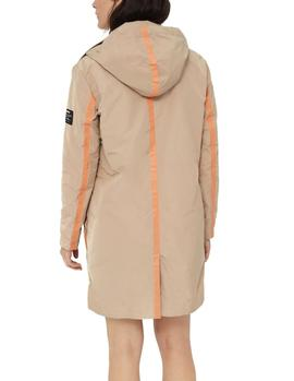 Impermeable Ecoalf Omawi Overall tostado mujer