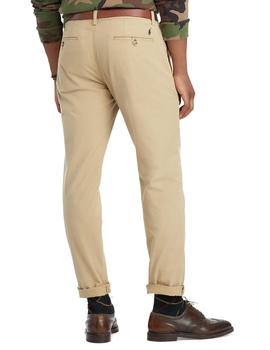 Pantalones Ralph Lauren Slim Fit Stretch beige hombre