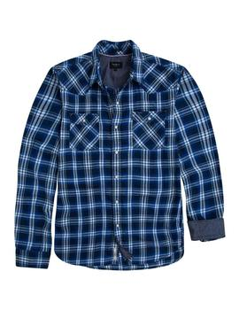 Camisa Cuadros Pepe Jeans Grant azul hombre
