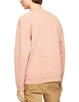 Felpa Pepe Jeans Gregory coral hombre