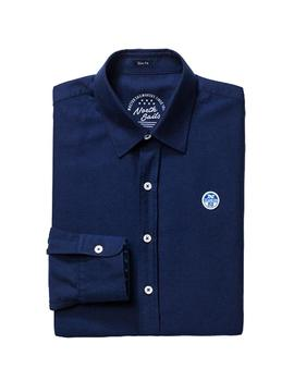 Camisa North Sails Oxford Slim marino hombre