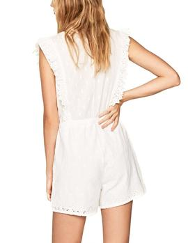 Mono Pepe Jeans Missa blanco mujer