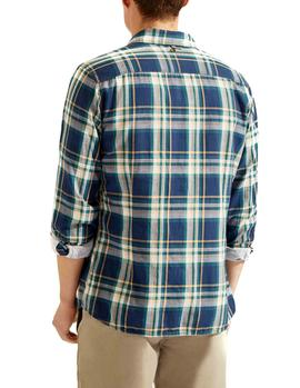 Camisa HKT by Hackett Double Faced Plaid multicololor hombre