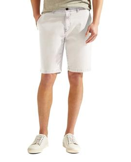 Bermudas HKT by Hackett Garment Dye Stretch beige hombre