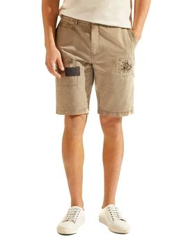 Bermudas HKT by Hackett Panelled Repair caqui hombre