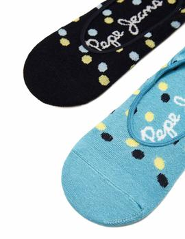 Pack 3 Calcetines Pepe Jeans Vania multicolor mujer