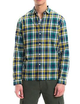 Camisa Tommy Denim Tim Essential Check verde