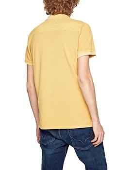 Polo Pepe Jeans Fra amarillo hombre