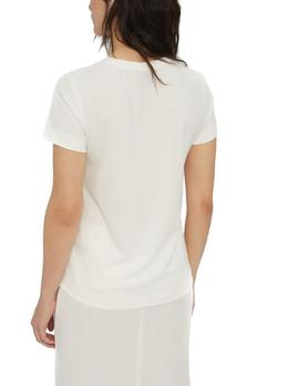 Camiseta Ecoalf Lower Because crudo mujer