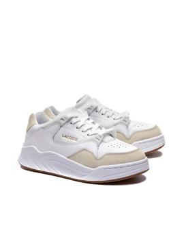 Deportivas Lacoste Court Slam blanco mujer