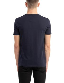 Camiseta Ralph Lauren Custom Slim Fit marino hombre
