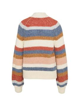 Jersey Pepe Jeans Mimi multicolor mujer