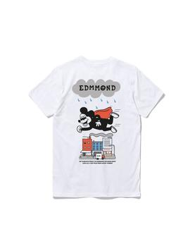 Camiseta Edmmond New Blinky blanco hombre