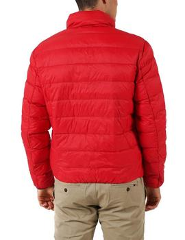 Chaqueta Tommy Jeans Packable Light Down rojo hombre