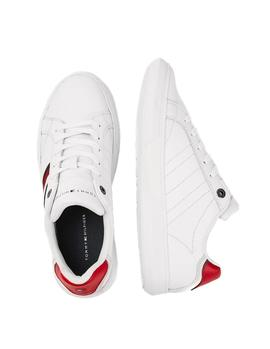 Deportivas Tommy Hilfiger Essential Leather blanco hombre
