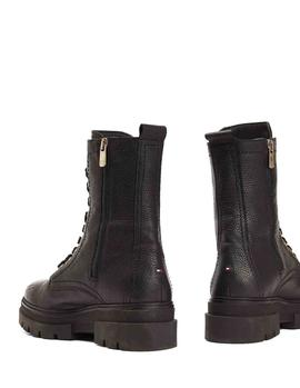 Botas Tommy Hilfiger Classic negro mujer