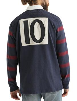 Polo Ralph Lauren Rugby marino hombre