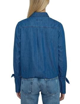 Camisa Pepe Jeans Allison azul mujer