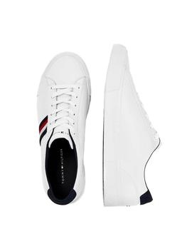 Deportivas Tommy Hilfiger Corporate Leather blanco hombre