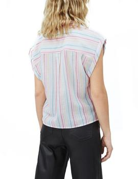 Camisa Pepe Jeans Virginia multicolor mujer