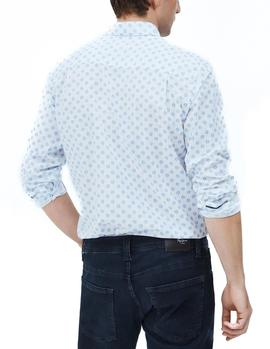 Camisa Pepe Jeans Peter blanco hombre