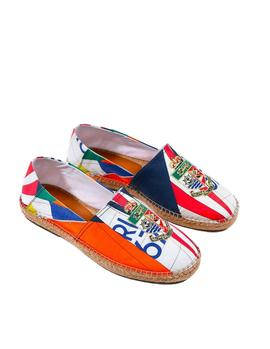 Alpargatas Ralph Lauren Cevio Slip On multicolor hombre