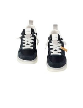 Sneakers Panchic P05 Nylon Suede azul mujer